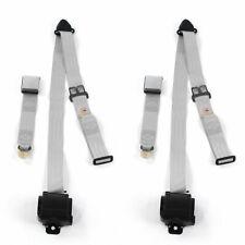 Frazer Nash 1948 - 1967 Airplane 3pt G/G Retract Bucket Seat Belt Kit-2 Belts