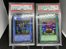 Yugioh! PSA 9 1st Edition MRL Relinquished + Ritual