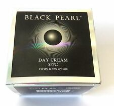 50 Ml 1.7 Oz Black Pearl Light Day Cream SPF 25 for Normal Skin Dead Sea of Spa