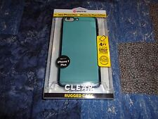 Griffin Clear Rugged Phone Case for Iphone 7 6 6S Plus Blue Brand New