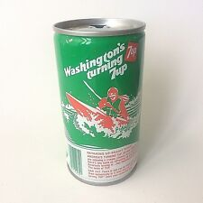 "Vintage 1979 7up ""America's Turning 7 up"" Collectible Soda Can - Washington"