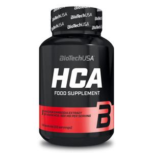 (EUR 241,67/kg) BioTech USA - HCA, 100 Kapseln - Diät, Abnehmen -