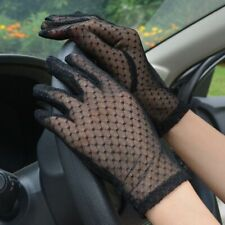 Mesh Gloves Women Lace Driving Glove Wedding Fishnet Summer Lady Floral
