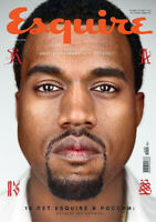 Rapper Kanye West for United States president? `ESQUIRE`(Russia) 9/2020 magazine