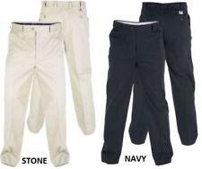 Pantalones de hombre chinos color principal beige de 100% algodón