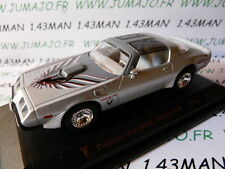 coche 1/43 ROAD SIGNATURE : PONTIAC Firebird Trans am 1979 gris