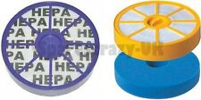 Washable Pre & Post Motor Allergy HEPA Filter Kit to fit Dyson DC05 DC08 Vacuum