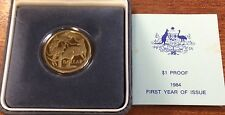 1984 $1 royal australian mint proof coin.