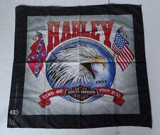 Harley Davidson Bandana Vintage Eagle Send Me Your Best 1980s