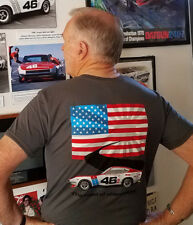 BRE Datsun 240Z Road of Champions shirt sold by Peter Brock - BRE