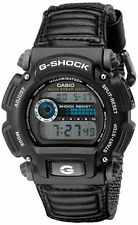 Casio NEW G-Shock DW9052V-1 Digital Chronograph Watch Black  Fabric Band NEW