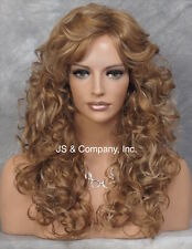 Sexy AMAZING CURLY Blonde mix Big Full hair WIG JSCR 27.613