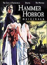 Hammer Horror Originals - Dracula + Curse of Frankenstein + The Mummy DVD set