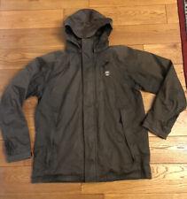 Mens Medium M Timberland Waterproof Jacket Coat Hooded Hike Walk