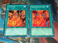 """Yugioh Tremendous Fire - Uncensored Japanese """"Sexy"""" - DL4-025 & English Copy"""