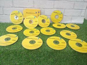 Rosetta Stone Spanish - Levels 2-5  CD Language Course Incomplete