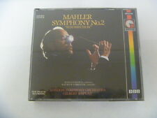 GUSTAV MAHLER SYMPHONY 2 RESURRECTION RARE 2 CD SET 5010946691021