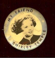 unusual SHIRLEY TEMPLE doll pin # 6 My Friend