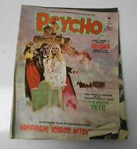 1974 PSYCHO Magazine #19 GD+ Dracula ORIGIN Pablo Marcos BOADA Cover