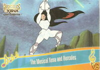 The Musical Hercules and Xena  M9 Xenas Song insert trading card