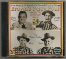 "BROWN'S FERRY FOUR, CD ""FINE SINGING OF WONDERFUL SONGS"