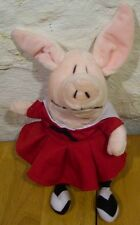 "OLIVIA THE PIG 12"" Plush STUFFED ANIMAL Toy"