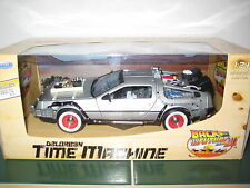 Back to the Future III Delorean Time Machine 1:24 Scale Diecast Metal