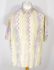 Vintage 90s Shirt L XL Fresh Prince Abstract Festival 80s Blogger Oversized