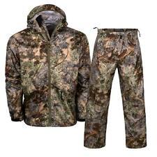 2pc Kings Camo Desert Shadow Climatex Rain Gear Pant Jacket Bundle Lot