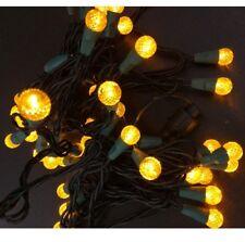50er LED Motif Guirlande lumineuse partybeleuchtung Parti Lumières Noël Jaune