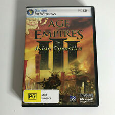 Age Of Empires III The Asian Dynasties Expansion (PC, 2007) PC Game - FAT CASE