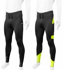 Aero Tech Men's All Day Cycling Tights with Pockets and Reflective Made in USA