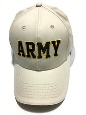 Fire for Effect Embroidered U. S. Army Stone Ballcap Hook & Loop Closure