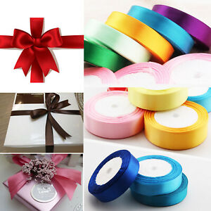 DIY High Quality Christmas Gift Wrapping Satin Curling Ribbons Bows  25meters