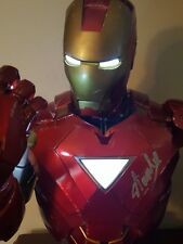 Stan Lee Signed Autographed Iron Man Legendary Scale Bust Sideshow Collectibles