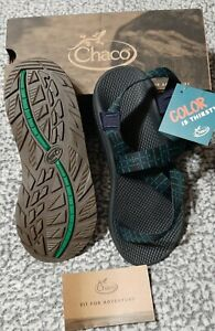 NEW in Box $120 Chaco ZCloud Endless Navy Bleu Marin SANDALS Men's size 12