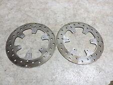 10 Piaggio MP3 400 Scooter Vespa front brake rotors disks