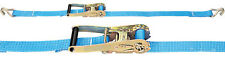 Texspan 10m Ratchet Strap - Lorry Cargo Lashing Claw Ratchet 5 tonne