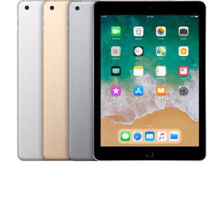 Apple iPad 5th Gen - (2017 Model) - 32GB - 128GB - Wi-Fi + Cellular