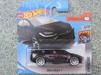"Hot Wheels 2018 #328/365 TESLA MODEL X black ""Energy"" HW Metro"