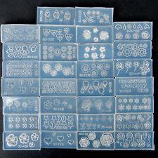 Nuevo Hágalo usted mismo 30 un. para Arte en Uñas Puntas 3D GEL UV Polvo Acrílico Molde de Silicona Molde Set Kit