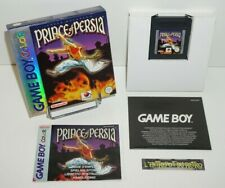 ++ jeu nintendo game boy color PRINCE OF PERSIA en boite ++