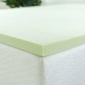 ZINUS 1.5 Inch Green Tea Memory Foam Mattress Topper / Pressure-Relieving Lay...