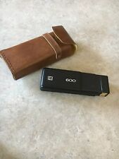 Kodak 600 camera with vintage leather camera case