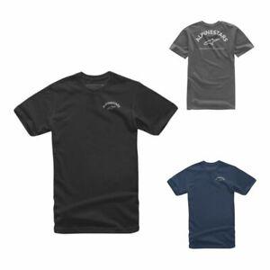 Alpinestars Arced Casual Half Sleeved Soild Cotton Classic T-Shirt For Adult Men