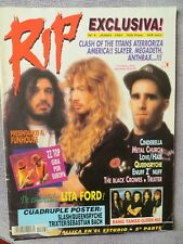 RIP:NUM.4: SLAYER-MEGADETH-ANTHRAX-UDO-DORO-BLACK CROWES-LITA FORD-ETC.(SPAIN)