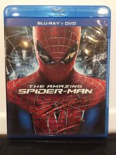 Used THE AMAZING SPIDER-MAN 3-Disc Blu-ray/DVD Set (2012) in Excellent Condition