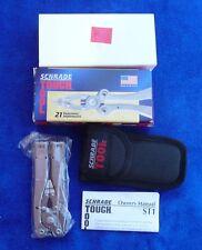 "Schrade USA made ST1-N Schrade Tool Ballistic Sheath ""Multi-Function Tool""-MIB."