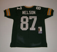PACKERS Jordy Nelson signed jersey w/ #87 JSA COA AUTO Autographed Green Bay