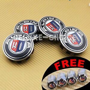 4 Car Wheel Rim Center Hub Cap Emblem Badge Logo 69mm for Alpina 3613 6783536 03